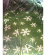 Green Snowflake onesie   XS only 145 cms - 152 cms 40 - 54 kgs