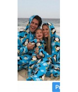 PENGUIN onesie MATCHING MUM DAD TODDLER  BABY