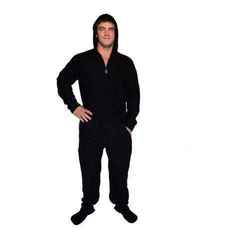 DROP SEAT    black     BUTTFLAP Onesie