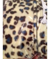 Snow leopard FLEECE ONESIE